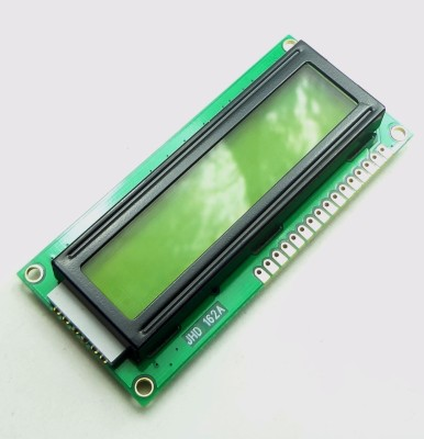 Explore Embedded Character LCD 16 x 2 - Black on Green