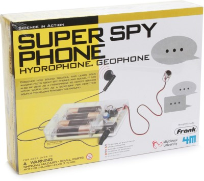4M Science in Action Super Spy Phone