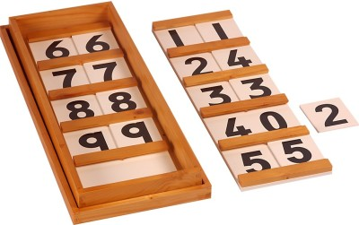 Kidken Montessori Seguin's Boards 10 to 99 (Ten Board)
