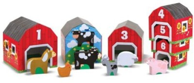 Melissa & Doug Nesting, Sorting Barns and Animals