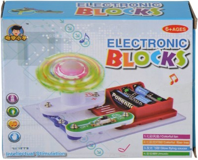 Planet of Toys Electronic Block Circuit Science