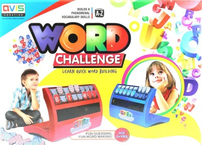 Avis Creation Word Challenge - Learn Quick Word Building