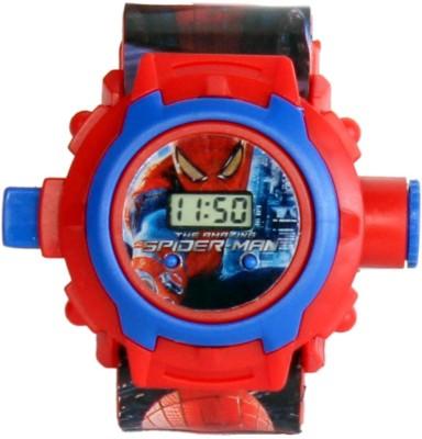 Homeshopeez Spiderman Projector Watch