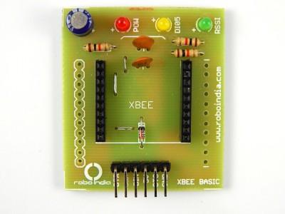 RoboIndia XBee adaptor and explorer (breakout board) (5V operated)(Multicolor)