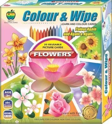 Applefun Colour & Wipe Flowers