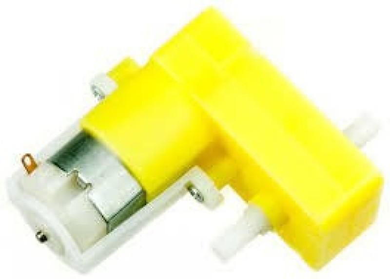 Robokart BO DC Motor 150 RPM L Shape(Multicolor)