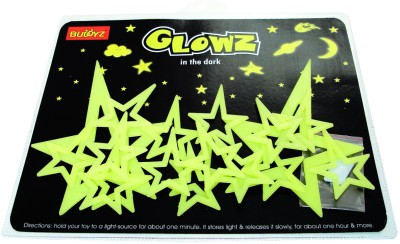 Buddyz Set of 2 - Glowz Pole Stars for Kids