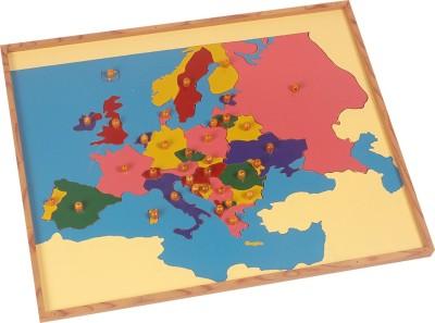 Kidken Montessori Map Puzzle: Europe