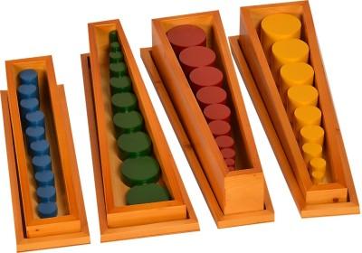 Kidken Montessori Knobless Cylinders