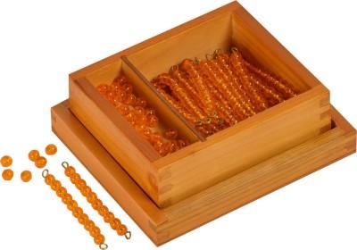 Kidken Montessori Golden Beads for Dynamic Set