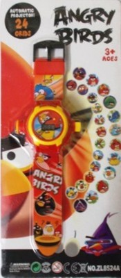 DSC Angry Bird Projector Wristband - 24 Images