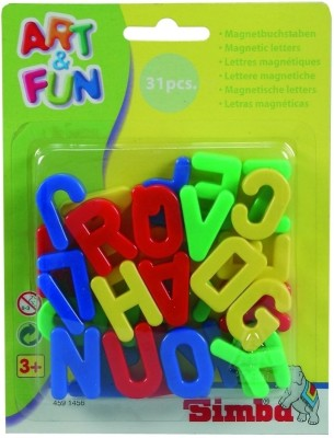 Simba Art and Fun Magnetic Capital Letters