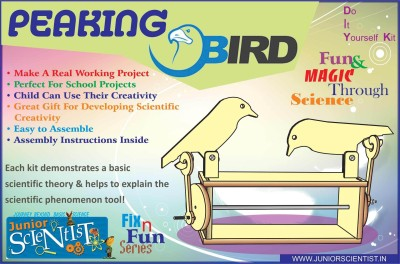 Junior Scientist Peaking Bird