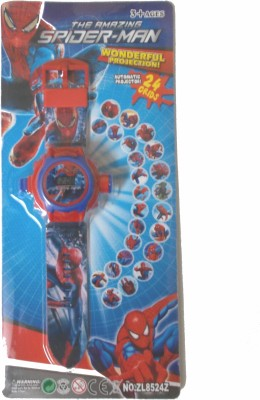 General Aux The Amazing Spiderman Projector Watch