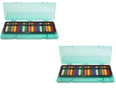 Djuize Abacus Multicolor Box 17 Rod C2 - Set Of 2