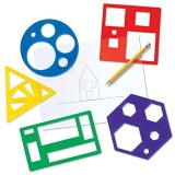 Learning Resources Primary Shapes Templa...