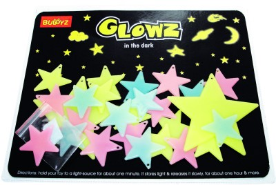 Buddyz Glowz Small Stars for Kids