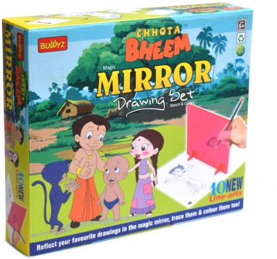Buddyz Chhota Bheem Do-it-Yourself Mirror Drawing for Kids