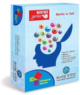 Wavekids Pythagoras Theorem - Do It Yourself Maths Kits