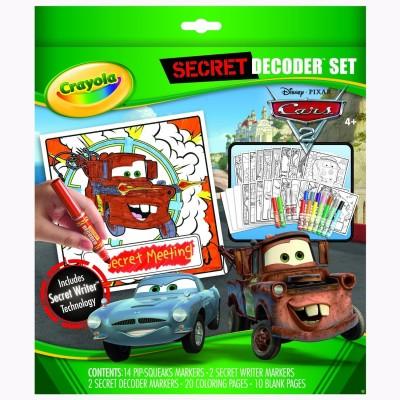 Disney Crayola Secret Decoder