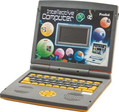 Prasid Intellective Learning Computer with 50 Activities Grey