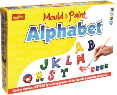 Buddyz Mould & Paint - Do-it-Yourself - Alphabet for Kids