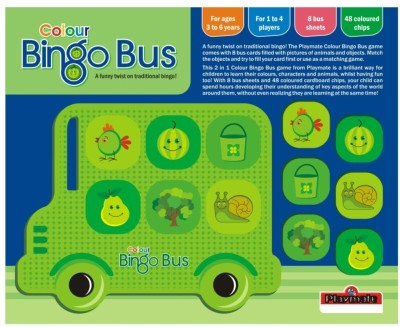 Playmate Colour Bingo Bus