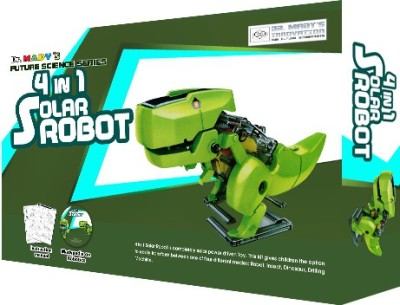 Dr. Mady 4 in 1 Solar Robot