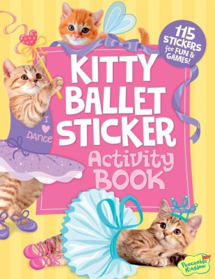 Peaceable Kingdom Kitty Ballet Sticker Activity Book