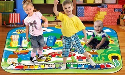 Ginzick Kids Giant Fun City Dance Mat-playmat