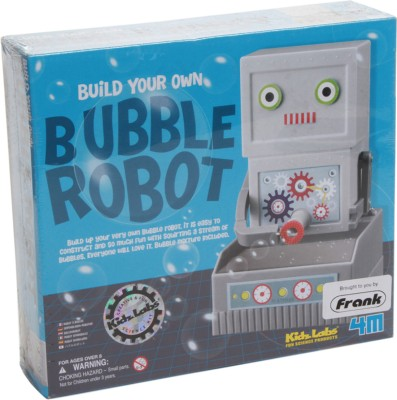 4M Kidz Labs-Bubble Robot