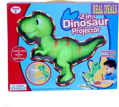 Real Deals 2 In 1 Dinosaur Projector