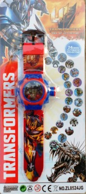 Jaibros Transformers 24 images Projector Watch