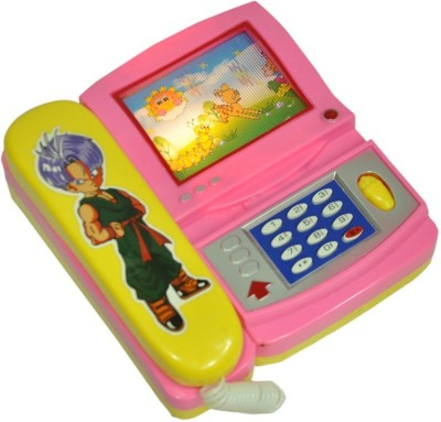 Shop & Shoppee Musical Phone with Cartoon Moving Screen