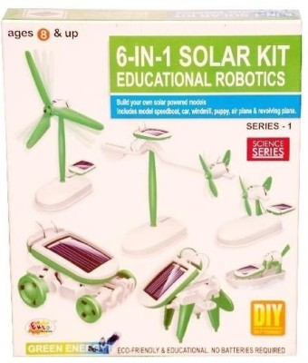 Ekta 6 in 1 Solar Kit Educational Robotics - 1