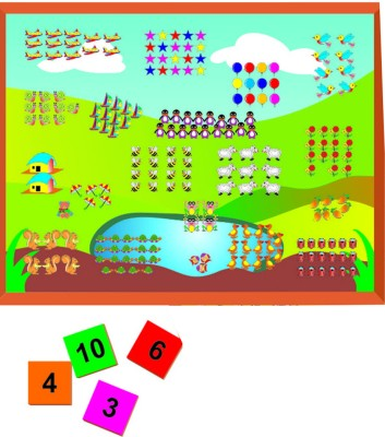 Kinder Creative Magnetic Numbers with Number Tiles