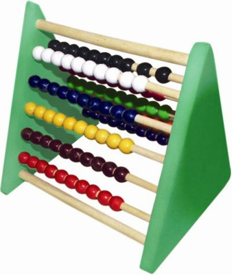 Kinder Creative Triangle Abacus (1 - 100) with Wooden Rods