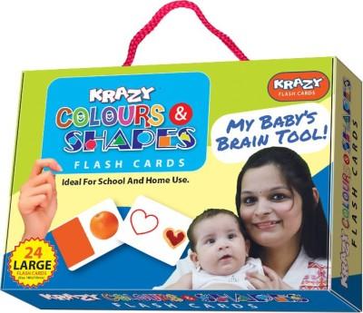Krazy Colour & Shapes Flash Cards