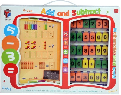 Planet of Toys Add And Subtract Mathematics Educational Interactive Toy