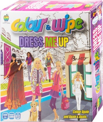 Applefun Colour & Wipe Dress Me Up