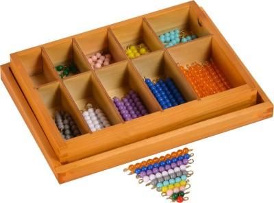 Kidken Montessori Coloured Bead Stairs