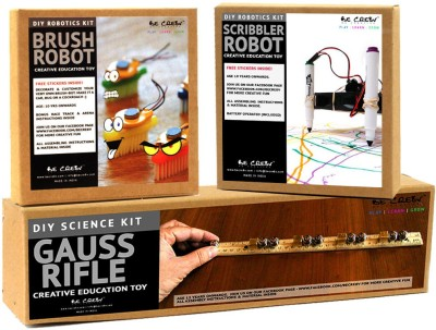 Be Cre8v Science, Electronics & Robotics DIY Learning Combo Pack