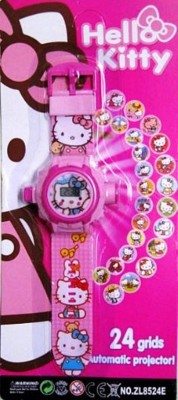 ToysBuggy New Hello Kitty 24 Images Projector Watch