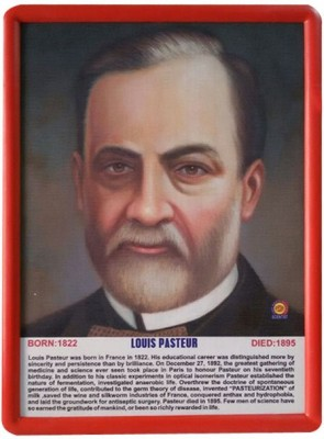 JAINCO Great Scientists Portrait (Louis Pasteur)
