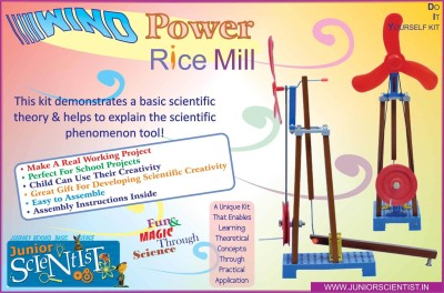 Junior Scientist Wind Power Rice Mill
