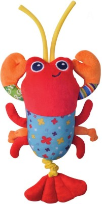 Parkfield Premium Developmental Baby Learning Toy - Pull String Musical Toy (Prawn)