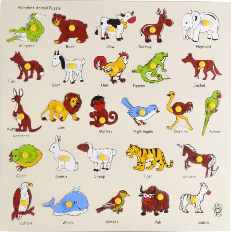 Skillofun Animal Alphabet Tray