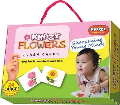 Krazy Krazy Flower flash cards