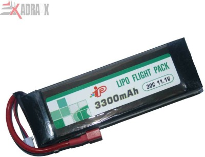 Adraxx Li po Battery(Planes) 11.1v/3300 MAh/30C(Multicolor)
