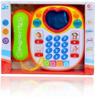 Planet of Toys Educational Telephone Teaches Mathematics, Shapes, Animal Names & Sounds(Multicolor)